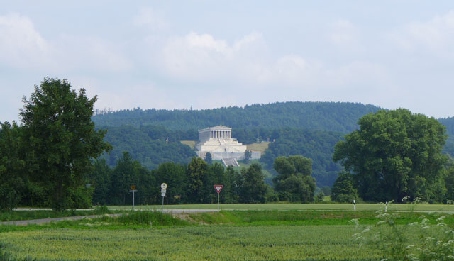 The Walhalla overlooking the Danube