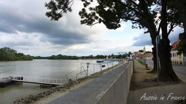 The waterfront at Szentendre after the 2013 floods