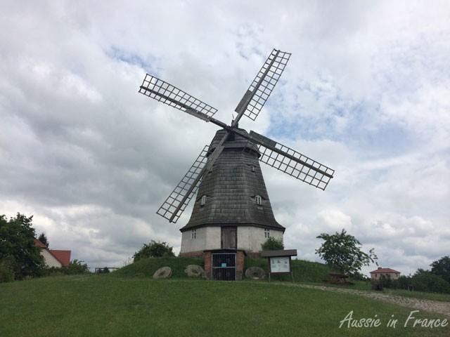 Höllanderwindmühle in Jerichow