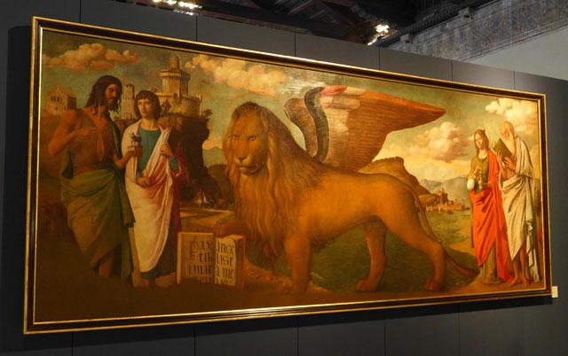 Cima da Conegliano's winged lion