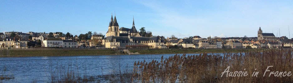 Blois in winter