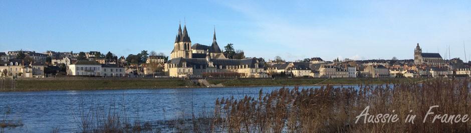 Blois in winter